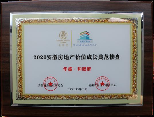2020年安徽房地产价值成长典范楼盘